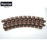 Hairise 8828 de Plastic Hoogste Transportband van het Latje voor Industrie van de Tabak