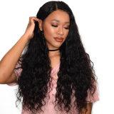 Parrucca naturale ondulata dei capelli della parte anteriore completa del merletto per la signora nera delle donne bianche