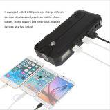 batería portable de la potencia del arrancador del salto del coche 12000mAh con la pantalla del LCD y el compás y acceso del USB de la linterna 3 del LED que carga para el teléfono