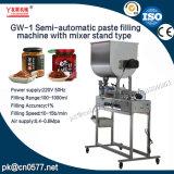 Füllmaschine der Pasten-Gw-1 mit Mischer-Standplatz-Typen für Seasame Paste