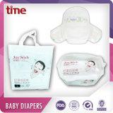 超薄く高い吸収性の極度の柔らかく快適な赤ん坊のおむつ