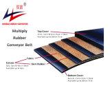 Multipliez la courroie du convoyeur en polyester Ep en caoutchouc