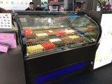 CommericalのアイスクリームのキャビネットまたはアイスクリームのショーケースまたはGelatoのフリーザーまたはアイスクリームの表示フリーザー