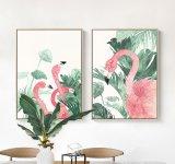 Af:drukken van het Canvas van de Flamingo van het Af:drukken van Giclee van het Ontwerp van de Kunst van de muur het Originele