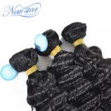 Il tessuto brasiliano profondo dei capelli impacchetta i capelli di Remy dei capelli umani di 100% non