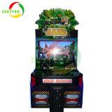 Münzenbetrieben uns lassen gehen die Spieler des Dschungel-Säulengang-Spiel-2, die Spiel schießen