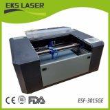 kleiner Ausschnitt Laser-60W und Gravierfräsmaschine Es-5030