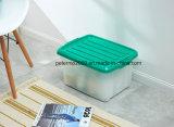 Contenitore di memoria di plastica all'ingrosso poco costoso variopinto del nuovo prodotto con le rotelle