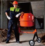 Máquina elétrica usada construção do misturador concreto do cimento da mão mini