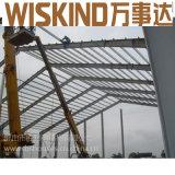 Progetto prefabbricato chiaro del magazzino della struttura d'acciaio