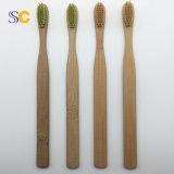 Beste verkaufenbiodegradierbare Bambuszahnbürste des großverkauf-100%