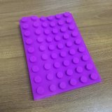 Purpurroter Silikon-Notizbuch-Deckel