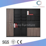 普及した木の家具の低いオフィスの本箱のファイルキャビネット(CAS-FC31415)