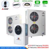12kw 19kw 35kw 70kw Chauffage central de pompe à chaleur atmosphérique