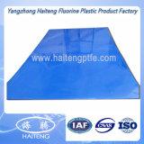 Aceite de color azul de la placa de nylon