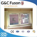 Fenêtre d'aluminium de haute qualité avec fonctionnement à ouverture coulissante