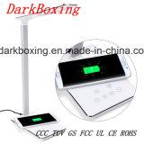 Chargeur sans fil mobile avec la lampe de Tableau de RoHS DEL de la CE aucun signal d'échantillonnage