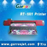 impresora de la materia textil del papel de la sublimación de la alta calidad del 1.8m Garros hecha en China