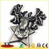 Магнит холодильника формы оленей подарков 3D животного сувенира зверинца наградной