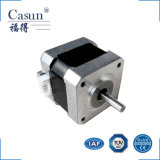 NEMA 17 de Casun 42 fase do milímetro 2 motores híbridos customizáveis do fabricante do motor deslizante do ruído e da inércia do torque de 1.8 graus de altura baixos mini