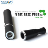 Seego 왁스를 위한 기화기 플러스 상한 이중 Quartzs 코일 Vape 시동기 장비 Vhit 재즈