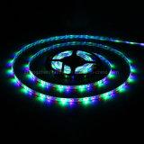 SMD3528 RGB 12V Non-Waterproof многоцветный светодиодный индикатор гибкой полосы света