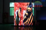 preço de fábrica P3.91 visor de vídeo perfeita no interior da Tela de LED (Gabinete Portátil)