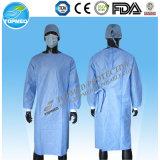 PE descartável/vestido cirúrgico de PP+PE/CPE/SMS/PP