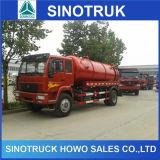Venda Fecal do caminhão da sução do vácuo de Sinotruk HOWO 14-16ton