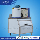 Supermercados producidos en fábrica Air/Water-Cooled flake ice maker con control remoto
