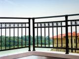 Diseño principal del pasamano del balcón del hierro labrado de la casa del precio de fábrica