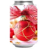승화 인쇄를 가진 크리스마스 선물 맥주 음료 깡통 그루터기 같은 냉각기 (BC0041)
