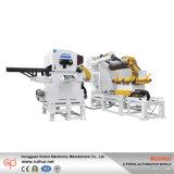Bobina de acero hidráulica Decoiler y alimentador de la enderezadora (MAC4-1300)