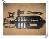 fibra del carbón 3k que procesa las piezas para el modo del helicóptero