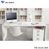 인공적인 돌 현대 상업적인 사무실 책상 백색 CEO 테이블 가구