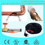 Câble chauffant de dégivrage de pipe pour garder circuler de l'eau