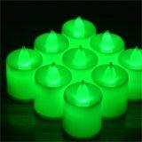工場安い小型LED茶ライト蝋燭