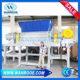 El reciclaje de residuos de plástico / Paquete de película de plástico gigantes // máquina trituradora de desechos textiles