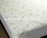 Fabricantes de gemelo/de por completo/reina/protector impermeable gigante del colchón del bambú de la capa el 100% del aire