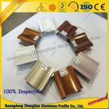 Perfil de alumínio da tubulação de Customerzied com cores de cristal da eletroforese
