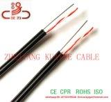 Chute de triangle sur le fil 2c et 1c de cuivre du fil en acier Câble téléphonique