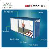 Vorfabriziertstahlkonstruktion-bewegliches Standardbehälter-Haus/Büro/Schlafsaal