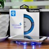 Qi Universal cargador inalámbrico Pad para Smartphone y el nuevo iPhone 8 Cargador Pad