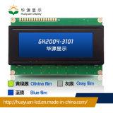 Tipo de pantalla LCD STN carácter 20X4 del módulo de mazorca