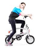 Велосипед миниой складчатости электрический