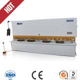 Máquina de estaca hidráulica quente do metal do pêndulo da venda 4*3200mm no estoque