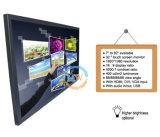 Moniteur lcd d'écran tactile de 32 pouces avec le VGA d'USB HDMI DVI entré (MW-321MBT)