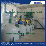 Máquina de la destilación del petróleo, planta de la refinería de petróleo con alta calidad