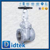 Válvula de porta de aumentação de Wcb da haste do teste de Didtek 100% para a central eléctrica