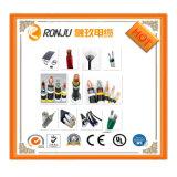 Collegamenti elettrici Rvs della Camera cavo elettrico dei materiali della decorazione del trefolo di 1mm x di 2